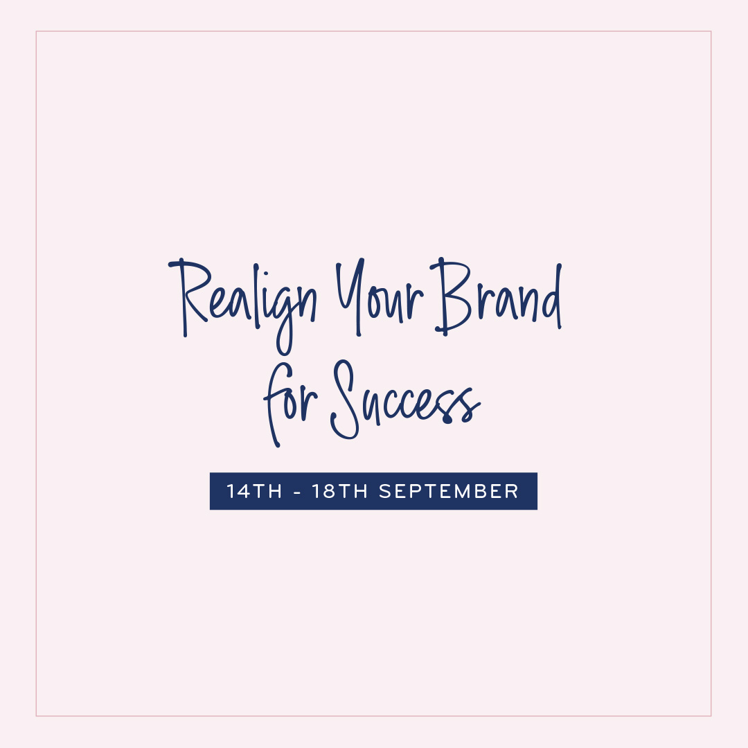 Realign your brand for success