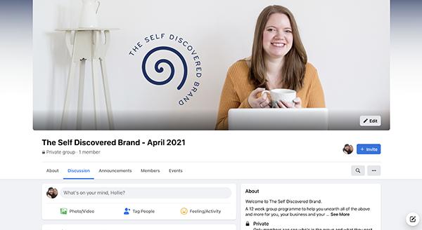 Facebook group community